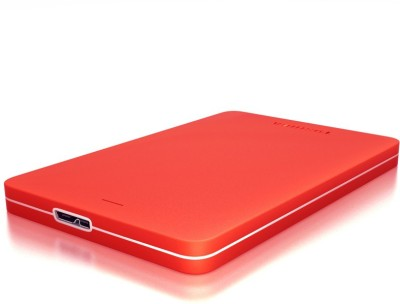 Toshiba Canvio Alumy 1 TB  External Hard Drive (Red)