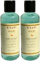 Khadi Mauri Under Eye Gel - Pack Of 2 - Herbal Skin Toner (420)
