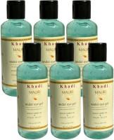 Khadi Mauri Under Eye Gel - Pack Of 6 - Herbal Skin Toner (840)