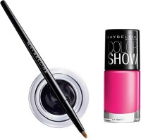 Maybelline Lasting Drama Gel Eye Liner - 1 With Offer 2.5 G (Black - 01)