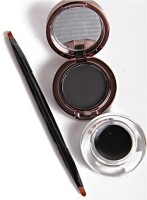 Glitters ADS 2 In 1 Jet Black Waterproof Eye Liner Gel And Powder 24hrs 4 G (Jet Black)