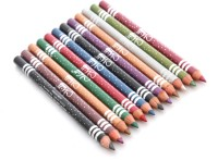 Me Now Pack Of Cosmetic Eye And Lip Pencils 12 G (Multi Color)