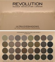 Makeup Revolution London 32 Eyeshadow Palettes Flawless 16 G (Multicolor)