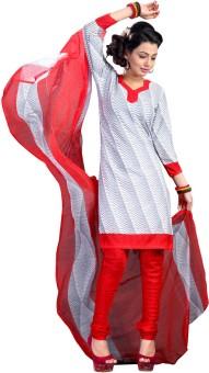 Vastrangam Crepe Printed Semi-stitched Salwar Suit Dupatta Material Semi-stitched - FABEASSV2WERYXZF