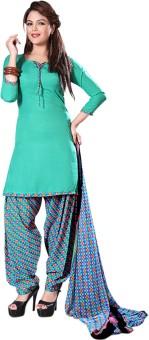 Lineysha Boutique Crepe, Crepe, Chiffon Solid, Printed Salwar Suit Dupatta Material Un-stitched