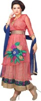 Rati Fashions Cotton Solid Semi-stitched Salwar Suit Dupatta Material Fabric Unstitched