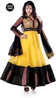 Rue Boutique Net Embroidered, Embellished Salwar Suit Dupatta Material available at Flipkart for Rs.4599