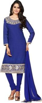 Manvaa Chiffon Self Design Salwar Suit Dupatta Material Unstitched