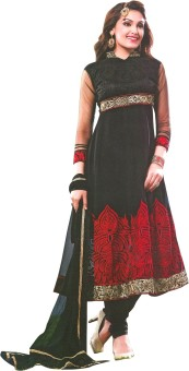 Z HOT FASHION Georgette Embroidered Salwar Suit Dupatta Material Un-stitched - FABEBFRPA6CHTKWK