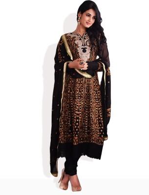 Hiba Net Self Design Salwar Suit Dupatta Material Unstitched available at Flipkart for Rs.2548