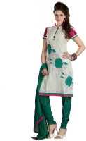 Anamika Cotton Printed Dress/Top Material Fabric Unstitched