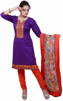 Vineberi Cotton Solid Dress/Top Material Fabric - Unstitched - FABDW65EX62BTMSZ