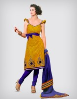 Venee Cotton, Chiffon Printed Dress/Top Material Fabric Unstitched