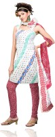 Unnati Silks Silk Printed Dress/Top Material Fabric Unstitched