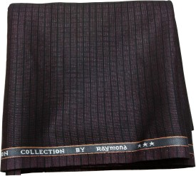 Raymond Polyester, Viscose Checkered Trouser Fabric
