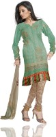 Unnati Silks Silk Printed Salwar Material Fabric Unstitched