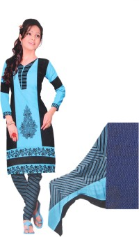Giftsnfriends Crepe Printed Dress/Top Material, Salwar Suit Dupatta Material, Salwar Suit Material Un-stitched