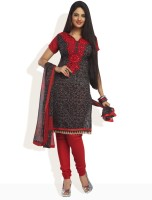 Shah Wah Chiffon Printed Dress/Top Material Fabric Unstitched