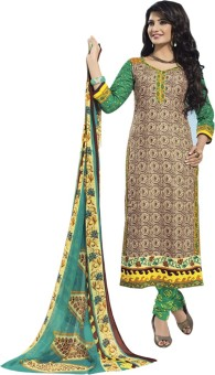 Sparkle Cotton Dresses Cotton Printed Salwar Suit Dupatta Material Unstitched