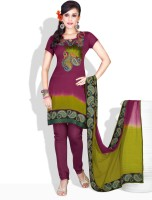 Prafful Cotton Salwar Material Fabric Unstitched