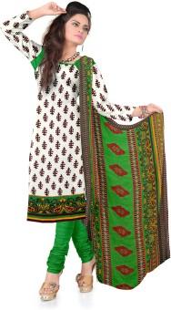 DnVeens Crepe, Chiffon Printed, Floral Print, Geometric Print, Self Design Salwar Suit Dupatta Material Un-stitched