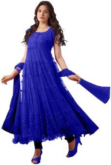 Cool Women Net Self Design Salwar Suit Dupatta Material Un-stitched