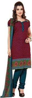 Riti Riwaz Cotton Printed Salwar Suit Dupatta Material (Unstitched)