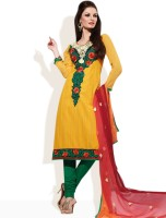 Strollay Cotton Floral Print Salwar Material Fabric Unstitched