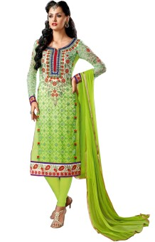 Stylelok Georgette Self Design Semi-stitched Salwar Suit Dupatta Material (Unstitched)