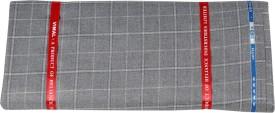 Vimal Polyester, Viscose Checkered Shirt Fabric
