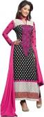 Aadya Georgette Self Design Semi-stitched Salwar Suit Dupatta Material