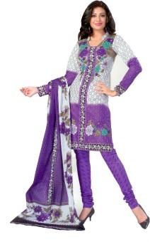 Premium Dress Cotton Printed Salwar Suit Dupatta Material (Unstitched)