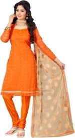Vastrani Cotton Embroidered Salwar Suit Dupatta Material