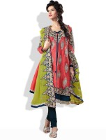 Adaa Synthetic Solid Salwar Material Fabric Unstitched