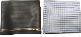 Vimal Cotton Polyester Blend Checkered Shirt & Trouser Fabric