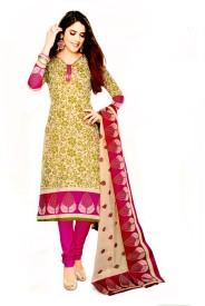 Devenir Cotton Printed Salwar Suit Dupatta Material