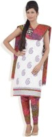 Chhabra 555 Silk Printed Dress/Top Material Fabric Unstitched