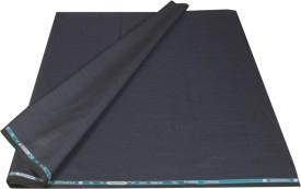 Kundan Polyester, Viscose Self Design, Solid Suit Fabric