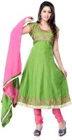 Petra Fab Cotton Solid Semi-stitched Salwar Suit Dupatta Material - Unstitched