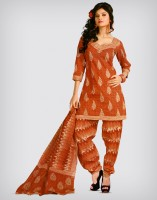 MAFATLAL Cotton Printed Dress/Top Material Fabric Unstitched