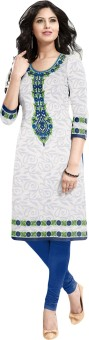 Salwar Studio Cotton Printed Kurti Fabric Unstitched