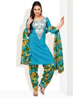 Strollay Cotton Printed Salwar Material Fabric Unstitched