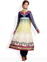 Aarya Synthetic Floral Print Salwar Material Fabric Unstitched