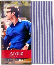 Arvind Cotton Striped Shirt Fabric