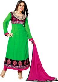 Czar Life Styles Georgette Self Design Salwar Suit Dupatta Material