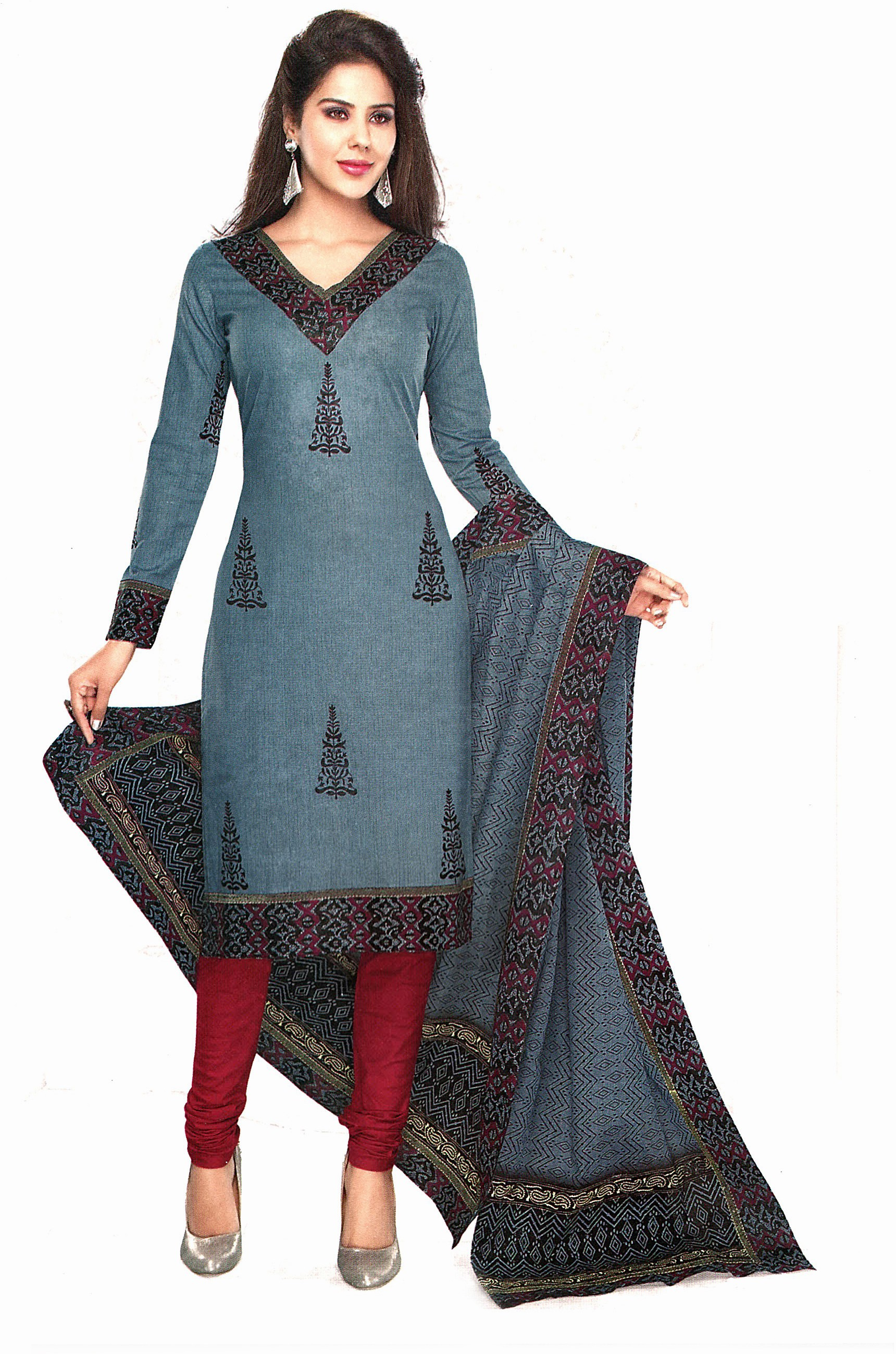Awesome Dress Material  Buy Khwaab Pink Net Unstitched Dress Material