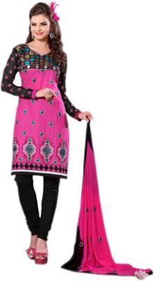 Vakaro Vakaro Georgette Printed Dress\/Top Material (Multicolor)