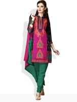 Riti Riwaz Synthetic Printed Dress/Top Material Fabric Unstitched