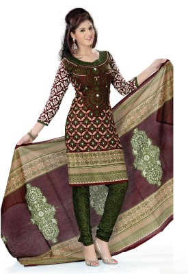 Lastest  Buy Vaamsi Cotton Printed DressTop Material Online At Flipkartcom