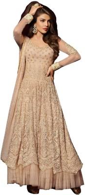 HM Trends Net Self Design Salwar Suit Dupatta Material available at Flipkart for Rs.11640